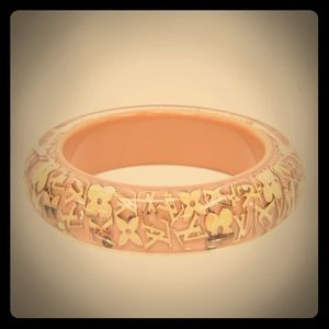 Louis Vuitton cream inclusion bangle
